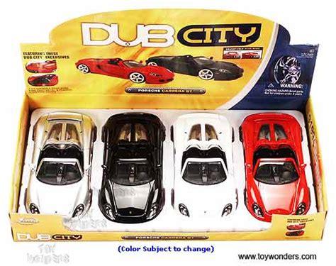 porsche toy jada toys dub city porsche carrera gt 1 24 asstd