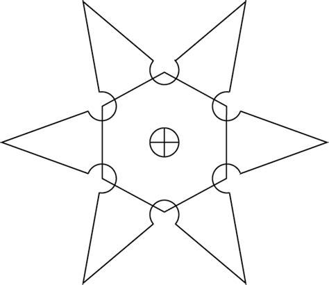 how to make a ninja throwing star shuriken youtube