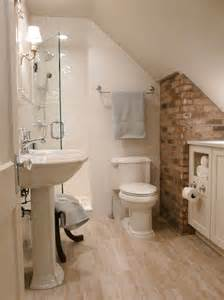 Small Attic Bathroom Ideas small bathrooms big design hgtv