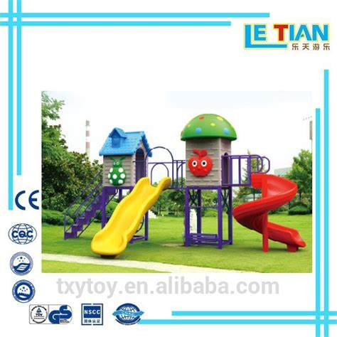 plastic slide and swing set outdoor plastic swing sets and slide for kids on sale