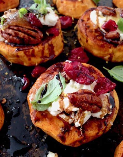 appetizers potato roasted sweet potato rounds appetizer recipe veggie society
