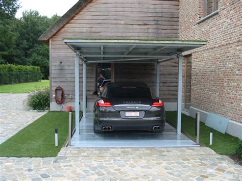 house car parking design montauto in abitazione privata con tetto sistemi di