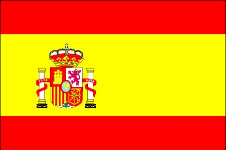 colors of spain spain flag official flag of spain