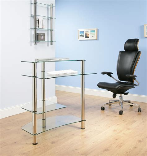 High Quality Desks For Home Office High Quality Glass Chrome Home Office Desk Computer