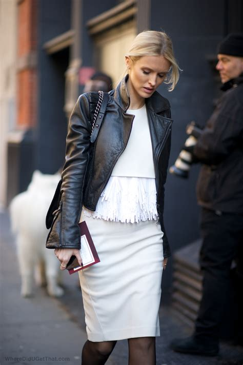 Leather Styles by Snapper The Black Leather Biker Jacket Trend Hits