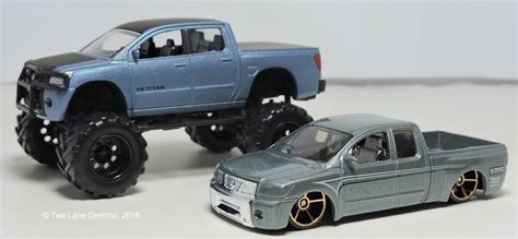nissan hotwheels two lane desktop wheels and jada toys 2006 nissan titan