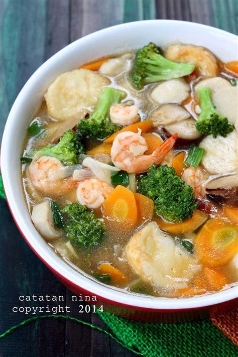 membuat kuah bakso simple catatan nina sapo tahu udang recipes pinterest stew