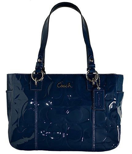 Coach Gallery Patent Handbag by Buy New Coach Embossed Patent Leather Gallery East West