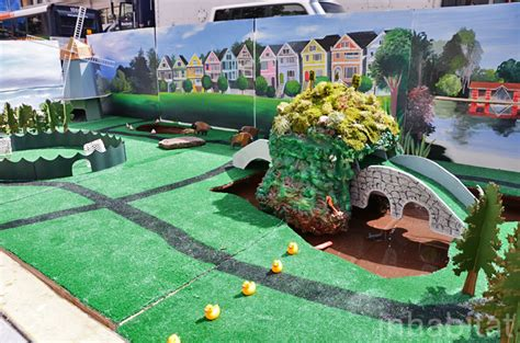 design your dream mini golf course parking day 2012 mini golf 171 inhabitat green design
