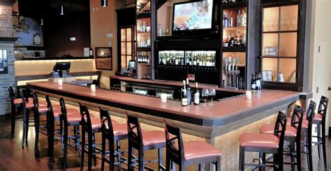 bar countertop ideas concrete countertops in restaurants and bars the concrete network