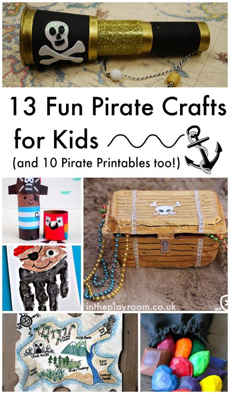 craft activities ks2 13 pirate crafts for and 10 pirate printables