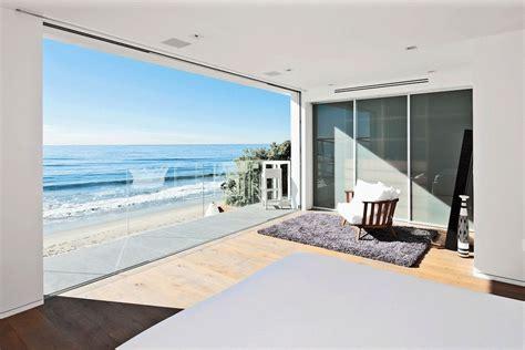 oceanview house plans bedroom balcony ocean views oceanfront home in malibu