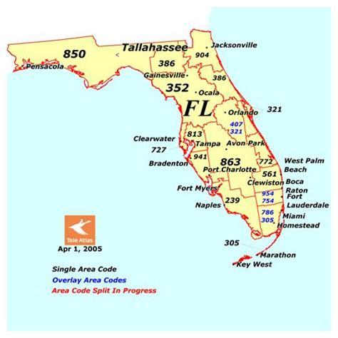 us area code florida us area code maps