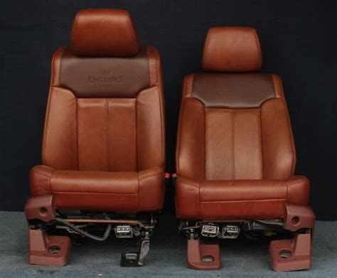 ford  king ranch front seats ebay