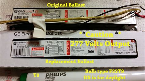 Kitchen Light Ballast How To Replace A T8 Electronic Kitchen Light Ballast