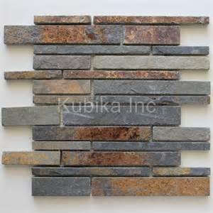 slate kitchen backsplash 48 best images about backsplash ideas on pinterest the cabinet stone backsplash and stone