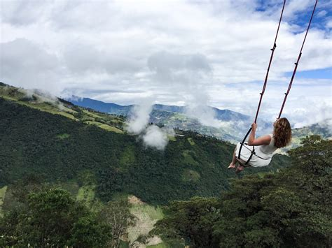 swing in ecuador casa arbol ecuador just not that way