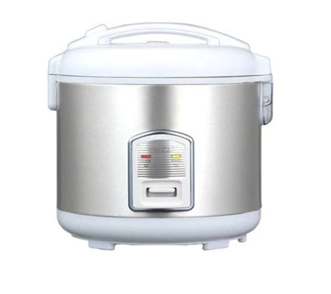 Rice Cooker Stainless Steel Sanken oyama 7 cup stainless steel rice cooker warmer steamer qvc