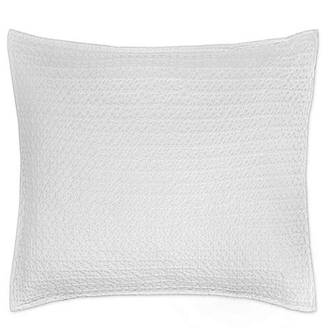 euro pillows bed bath and beyond buy kassatex paloma european pillow sham in white from bed