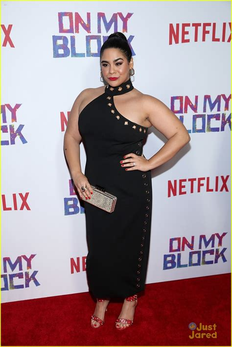 Blockers Premiere Ronni Hawk Debuts Brand New Look For On My Block Premiere Photo 1147221 Photo Gallery