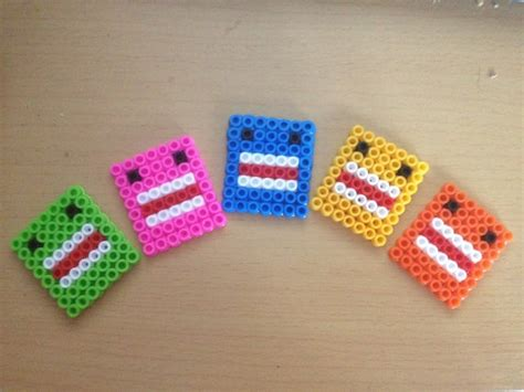 easy perler 17 best images about domo on crafts pop