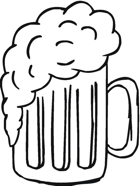cartoon beer black and white black and white beer cartoon clipart best