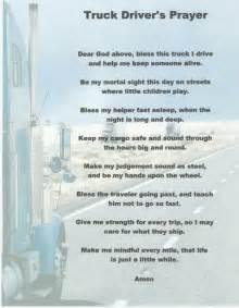 prayer for blessing a new car truck driver s prayer trucker s prayer