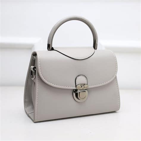 Tas Selempang Wanita 1377 Rounded Messenger kgs tas casual formal wanita handle mini satchel bag 2 pilihan warna elevenia