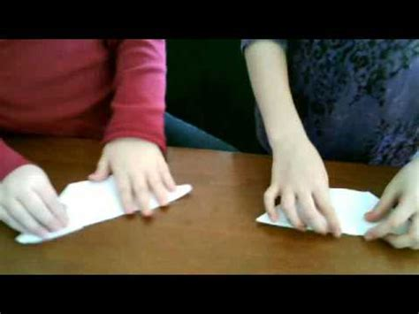 How To Make A Paper Duck Beak - how to make a paper bird beak