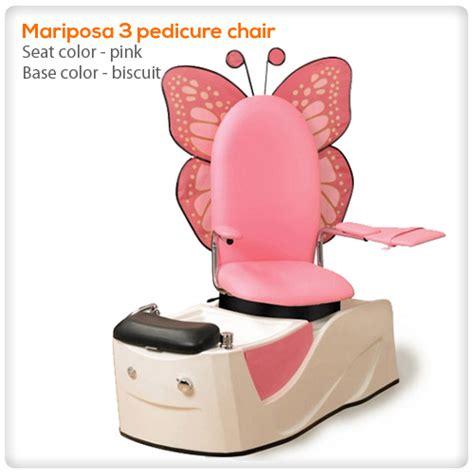 mariposa iii spa pedicure chair spasalon us