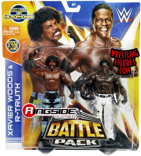 Aj Figure Mattel Series 30 Mainan xavier woods r battle packs 30