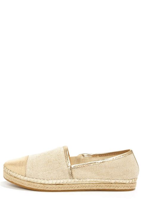 steve madden loafer flats steve madden destiney taupe shoes gold shoes loafer
