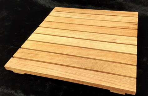 Teak Shower Floor Panels by Water Proof Teak Shower Flooring Tiles