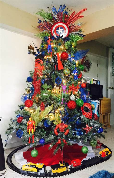 somple kids themd christmas trees in muti colors 30 creative tree theme ideas all about