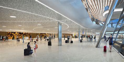 designboom airport unstudio unveils proposed terminal design for taiwan airport