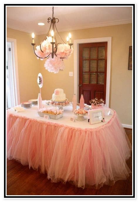 Decorating Ideas With Tulle 17 Best Images About Baby Shower On
