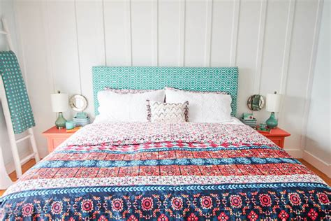 mexican comforters boho chic master bedroom refresh the happy housie
