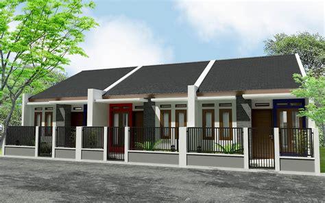 desain rumah kontrakan gambar desain rumah petak kontrakan gontoh