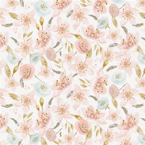 Floral In Pink pink hawaiian floral fabric by the yard brown fabric
