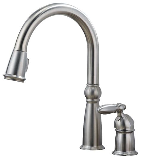 Kitchen Faucet Seal by Single Handle Pull Kitchen Faucet With