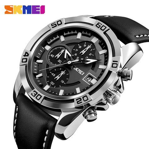 Jam Tangan Pria Skmei 7180 skmei jam tangan analog pria 9156 blue