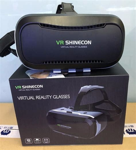 Vr Box 3d Reality Generasi Ke 2 vr shinecon 2 0 vr box 3d glasses reality helmet vr glasses for 4 5 6inch android and iphone