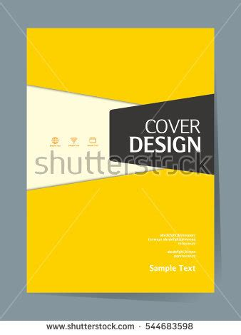 simple book cover template sale banner template design стоковое векторное изображение
