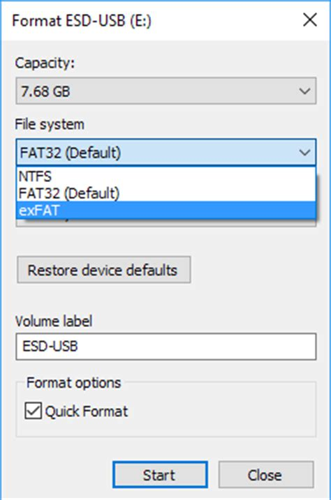 fat32 format not available windows 7 computer tips page 6
