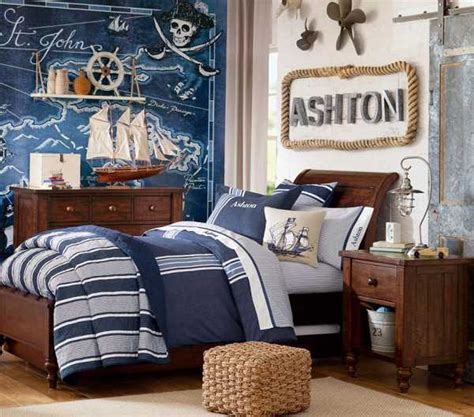 nautical themed room nautical decorating ideas for kids rooms from pottery barn
