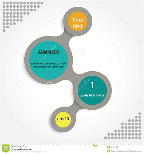 Simply Infographic Step By Step Vector Template Royalty Free Stock Photos Image 34724488 Step By Step Infographic Template