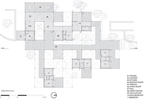house layout grid the grid house by fgmf yatzer