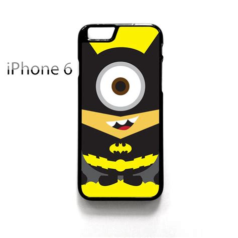 Despicable Me Batman Minion X3014 Iphone 7 kawaii despicable me minion batman iphone 6 6s cover cases covers skins