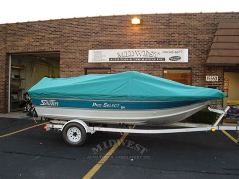 boat rail canvas midwest auto tops upholstery boat covers