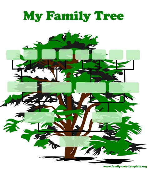family tree templates family tree template resources
